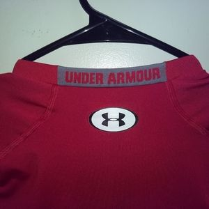 Under Armour Shirts - UNDER ARMOUR T-SHIRT 👕 Heatgear Compression Red L